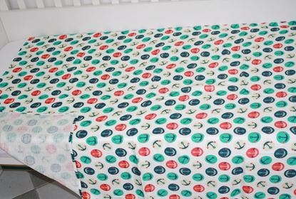 Picture of Bamboo tetra  blanket  - 100 x 100 cm - Anchors