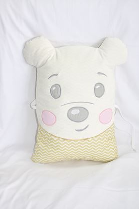 Picture of Pillow - Teddy- Yellow