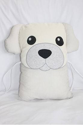 Picture of Pillow - Dog - Grey