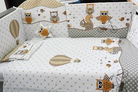 Picture for category Children's bedding, 9 pieces set