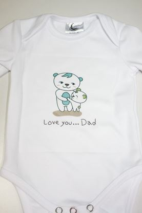 Picture of Baby body - dugi rukav - I love you dad