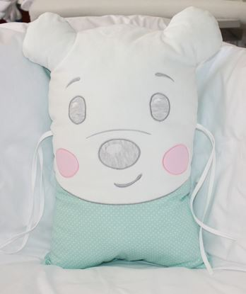 Picture of Pillow - Teddy - Green