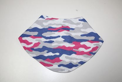 Picture of Baby scarf bib - military pattern
