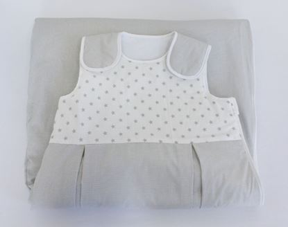 Picture of Sleeping bag  6 - 36 months  - Grey stars