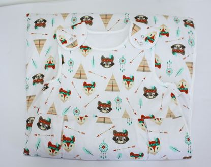 Picture of Sleeping bag  6 - 36 months  -  foxes and tents