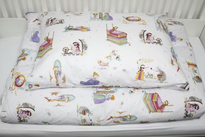 Picture of 2 pieces bedding for bed size 200x90cm - Fairy tale F