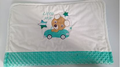 Picture of Warm three layer blanket  -  100 x 80 cm - Little star