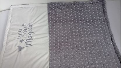 Picture of Warm three layer blanket - 120 x 100 cm - You are magical