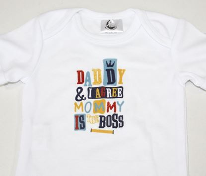 Slika od Baby body - dugi rukav - Mommy is the boss