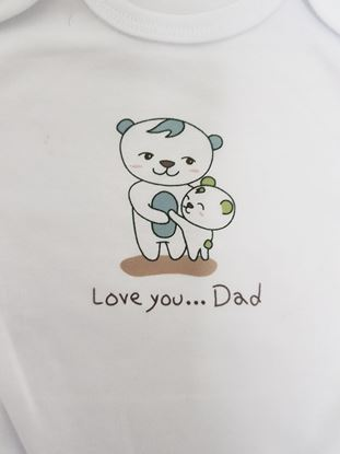 Picture of Body kratki rukav -  I love you dad