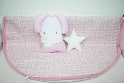 Picture of Baby play mats and toy bag 2 in 1 - Unicorn