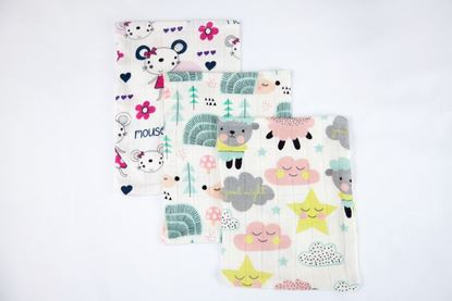 Picture of Bamboo tetra gloves - Mouse and Sheep