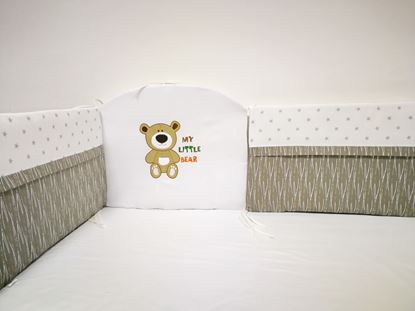 Picture of Baby crib bumper  - My little bear