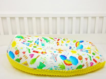 Picture of Nursing pillow Bamboo - Kids Drawings