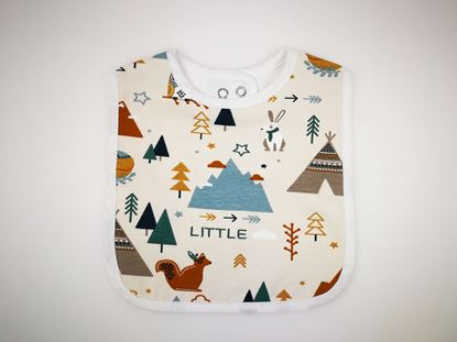 Picture of Baby bib with waterproof lining  - Winter dream