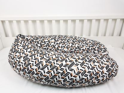 Picture of Nursing pillow - Brown lines