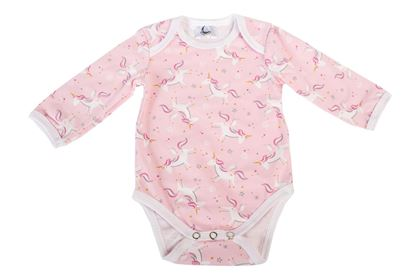 Picture of Baby body long sleeve - Unicorn