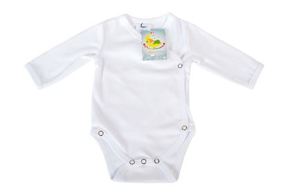 Picture of Side snap baby body - organic cotton