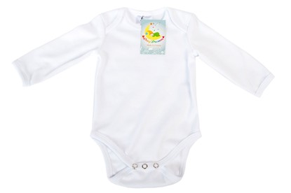 Picture of Baby body long sleeves organic cotton