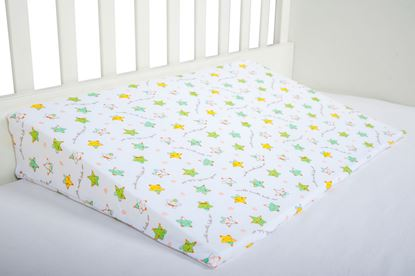 Picture of Baby cushion- 60cm -15°  -Green stars