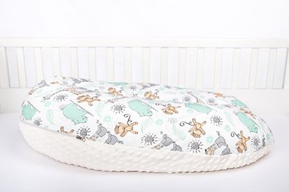 Picture of Nursing pillow Bamboo - Giraffes