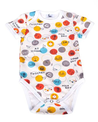 Picture of Baby body short sleeves - Good day