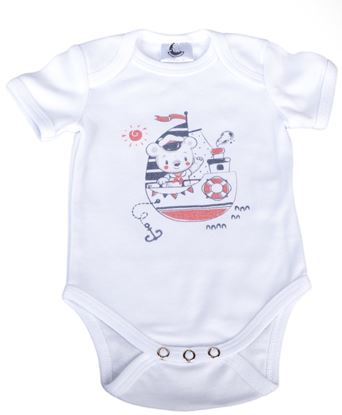 Picture of Baby body short sleeves - Sailor