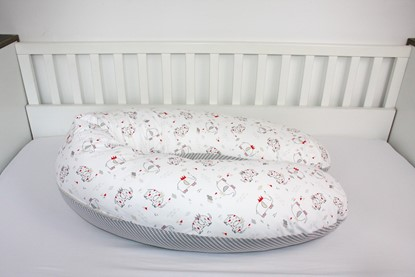 Picture of Nursing pillow - Elephanat with the crown