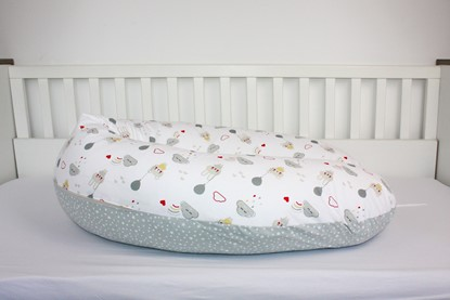 Picture of Nursing pillow - Teddy and stars
