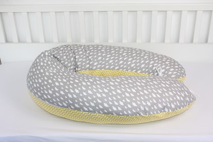 Picture of Nursing pillow - Grey clouds