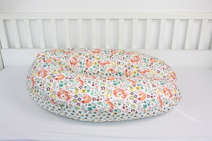 Picture of Nursing pillow - Squirrels  and flowers