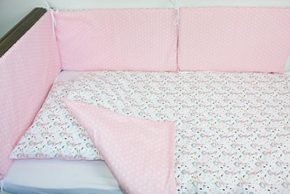 Picture of 6 pieces baby bedding  - Ballerinas