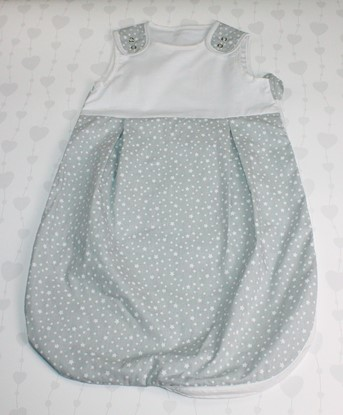 Picture of Sleeping bag - White stars - 60cm