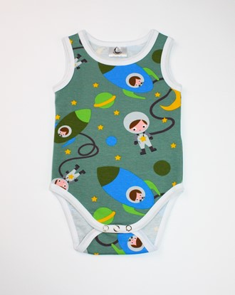 Picture of Baby body - designer - Children in space