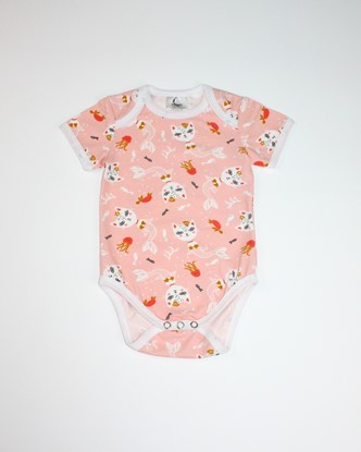 Picture of Baby body short sleeves - Mermaids