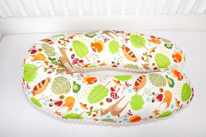 Picture of Nursing pillow cover - Forest animals
