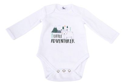 Slika od Body dugi rukav organski pamuk - Little adventurer