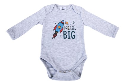 Picture of Baby body long sleeve - Dream big
