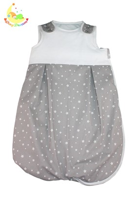 Picture of Winter sleeping bag - White stars - 0-6 months