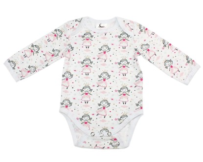 Picture of Baby body long sleeve - Fairies
