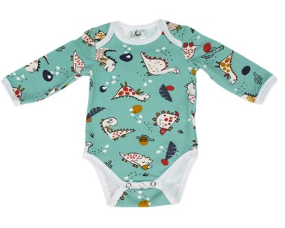 Picture of Baby body long sleeve - Dino