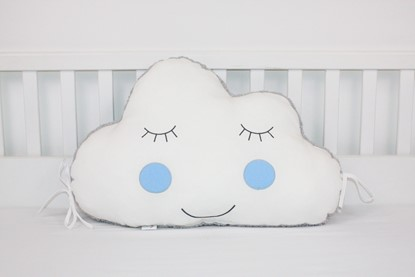 Picture of Cloud- Bamboo 60cm - Blue - Ivory