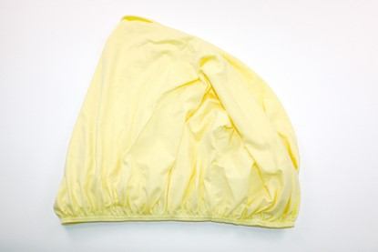 Picture of Cotton sheet with elastic  - Yellow