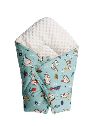 Picture of Cotton  carrier  blankets 2 in 1 -  Dino