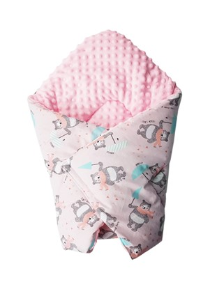 Picture of Cotton  carrier  blankets 2 in 1 -  Rainy day