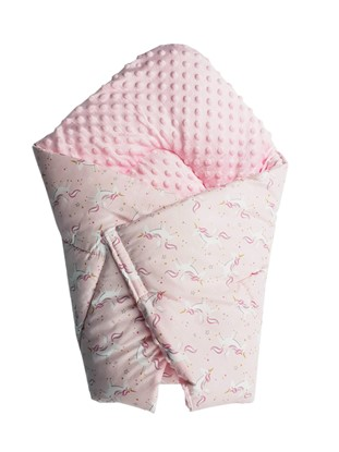 Picture of Cotton  carrier  blankets 2 in 1 -  Unicorns