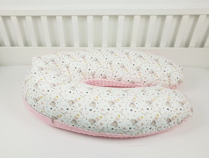 Picture of Nursing pillow cotton+minky - Little mouse