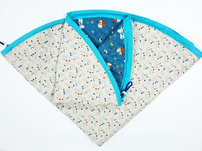 Picture of Baby play mats and toy bag 2 in 1 - Dogs