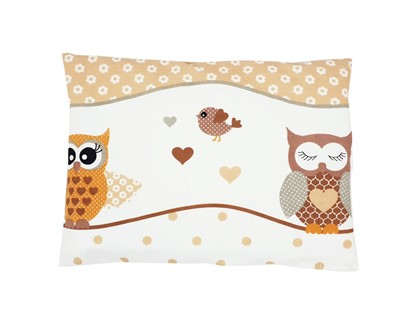Picture of Pillow and cover for pillow  - Owls beige