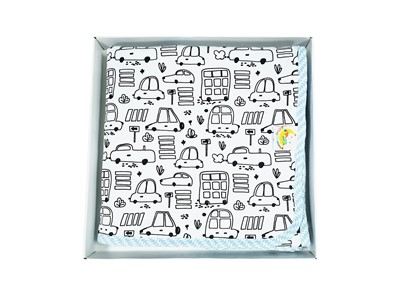 Picture of Premium cotton minky blanket 100x80 - Cars